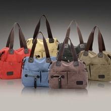 BV9046 2014 autumn woman fashion canvas shoulder bag lady canvas handbags wholesale