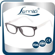 White black color private custom all buffalo horn eyeglasses frames