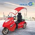Pasajeros de moda eléctrica de tres ruedas para discapacitados