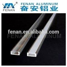 Industrial aluminum profile accessories for led strip