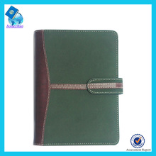 Embossed logo PU agenda,diary notebook for writing