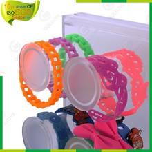 wonderful beautiful elastic silicone rubber bands,Promotional blank silicone bracelets