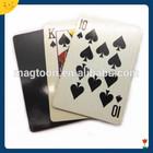 Play card custom design fridge paper magnet