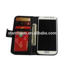 Shockproof money book case for Samsung Galaxy S4