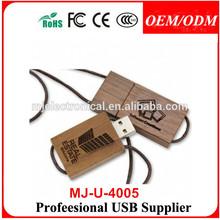 Eco Wooden USB Flash Drive, Samsung, Hynix, Toshiba Chip Types, Burnt Finish