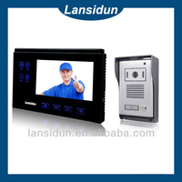 china new products high quality video auto-taking pictures and zine/aluminum alloy door phone