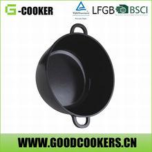 Eco-friendly Die-casting Aluiminum alloy non-stick pasta pot with strainer
