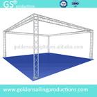 aluminum truss display designed lighting truss booth system