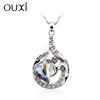 OUXI unique necklace made with swarovski elements 11013-1