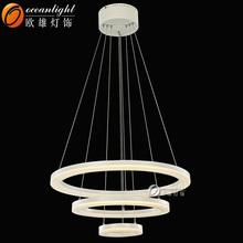 chandelier and light,led circle ring light XD9915