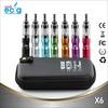 x6 e cigarette Big Promotion Variable voltage vape kamry x6 ecig Starter Kit 1300mah x6 battery x6 atomizer