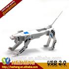 White tiger shape USB pen drive Transformers USB Flash Drive 8GB