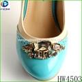 hw4503 piedra de moda de calzado decoración y accesorios para la decoración footware enitalia