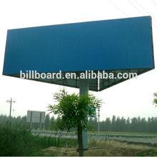 Highway longer life steel structure of billboard