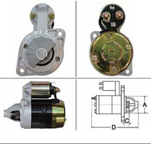 Second hand he20-18-400a starter For Mitsubishi car