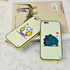Cute cartoon character silicone mobile phone shell cover