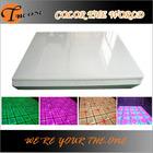 Night club changable color dmx interactive led dance floor