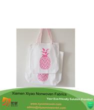 Natural color tote bag eco cotton bag