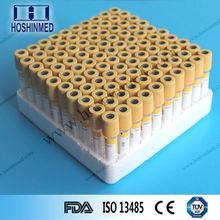 tubo sst vacutainer top giallo gel coagulo tubo attivatore