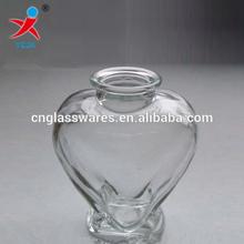 Heart Shaped Glass Wishing Bottle Wholesale