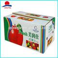 impresos personalizados de apple caja de cartón