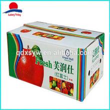 Custom Printed Apple Carton Box
