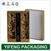 Wholesale Empty Custom Wine Carrier Box ,Wine Bottle Carton Box for Collection