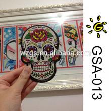 Factory Price Skull Hanging Car Air Freshener, Paper Air Fresheners, Car Fresheners (GSA-013)
