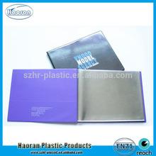 PVC Cover Material and pvc Binding photo book media of pvc sheet