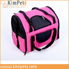 Airlines navy blue duffle pet travel carrier tote bag
