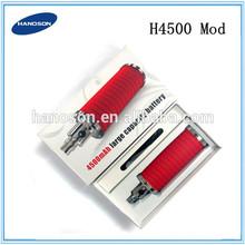 Heavy Taste High End Rda Atomizers Patented Rda Atomizer ego 2200mah vs 4500mah H4500 mod
