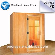 cheap outdoor mini sauna room