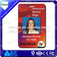 Free Sample..!!! preprinted school student id card/blank student id card/student card