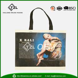 PP non woven wholesale decorative reusable shopping bag, shopper bags