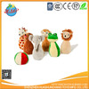 wholesale plush rattle toy stuffed children toy