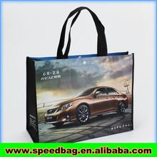 Car show promotion bag for customer pp non woven bag