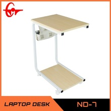 Wooden Pannel and Metal Frame Computer Table ND-07