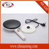Cordless Kitchen Crepes Maker with White Mix Bowl 110v 650watt