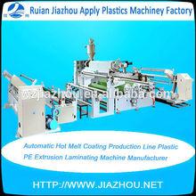 Automatic Hot Melt Coating Production Line Plastic PE Extrusion Laminating Machine Manufacturer