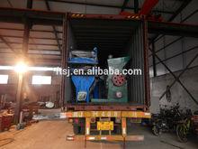 200-300kg/H pet bottle crushing washing drying recycling line