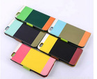 """Colorful 4.7"""" PU case for apple iPhone 6 cover"""