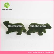 Artificial bear, fake grass animals marking, artificial grass animals wholesale