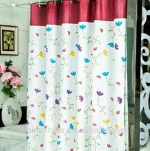 hot sale polyester /pvc / PEVA 3D shower curtain