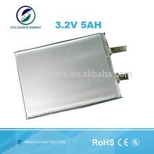 3.2v 5ah Lifepo4 Prismatic Battery Cell For Energy Storage, Electric car, EV, HEV