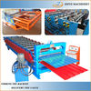 Metal Step Roofing Tiles Roll Forming Machine ZY-SR022