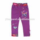 2-6Y(K710#PURPLE)Nova kids wear cotton knit butterfly baby trousers
