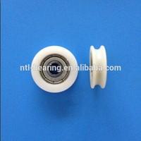 U groove 608 plastic coated ball bearing