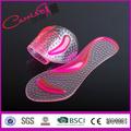 Vente en gros 3/4 anti- glissement. coussinets en silicone soutien de la voûte semelle gel de massage coussin de pied