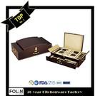 Wooden Box Gift Box 72pcs Cutlery Set