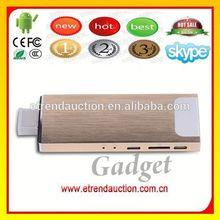 Full HD 1080P Video XBMC Streaming RK3188 1.8GHz Quad Core 2G RAM 8G ROM WiFi Bluetooh Mini PC Android TV Stick